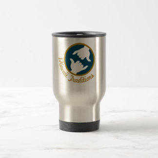Hawaii Traditions Logo Stainless Steel Travel Mug