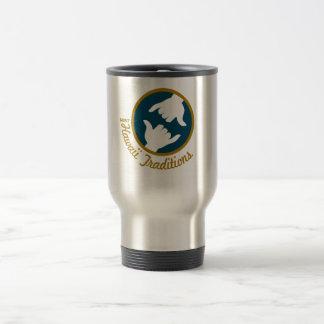 Hawaii Traditions Logo Stainless Steel Travel Mug