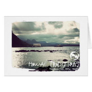 Hawaii Traditions, Makapuu Beach Greeting Card