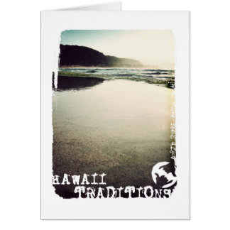 Hawaii Traditions, North Shore, Oahu Basic Card
