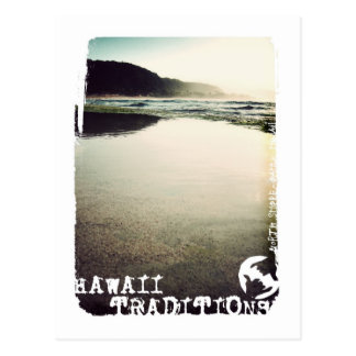 Hawaii Traditions, North Shore, Oahu Postcard