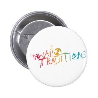 Hawaii Traditions Shave Ice Colored Button
