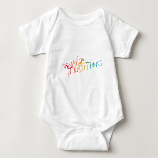 Hawaii Traditions Shave Ice Colored Infant Baby Bodysuit