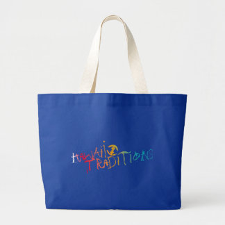 Hawaii Traditions Shave Ice Colored Jumbo Tote Tote Bag