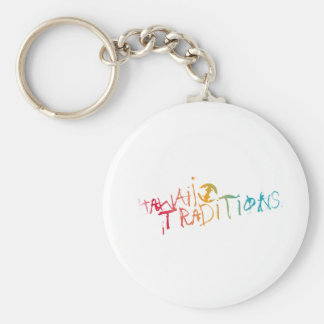 Hawaii Traditions Shave Ice Colored Keychain