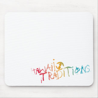 Hawaii Traditions Shave Ice Colored Mousepad