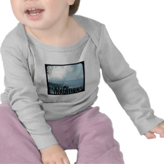 Hawaii Traditions Vintage Beach Infant Long Sleeve Tee Shirt