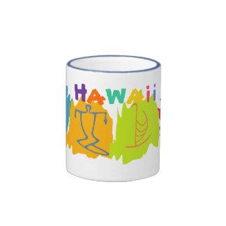 Hawaii Travel Souvenir Mug - Customized