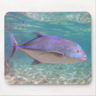 Hawaii Trevally Fish Mouse Pad