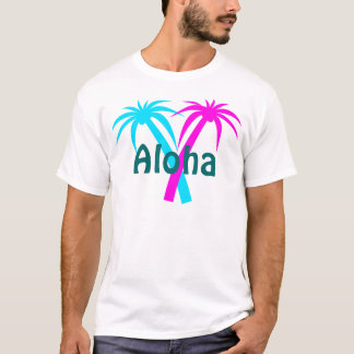 Hawaii Tropical Palm Trees T-Shirt