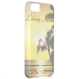 Hawaii Tropical Scene Living Aloha iPhone 5C Cover