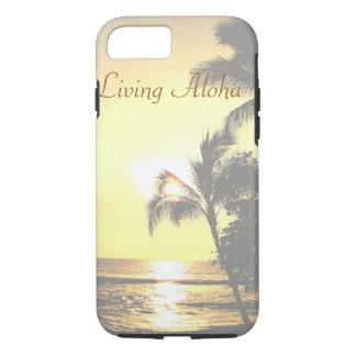 Hawaii Tropical Scene Living Aloha iPhone 8/7 Case