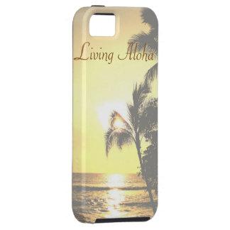 Hawaii Tropical Scene Living Aloha iPhone SE/5/5s Case