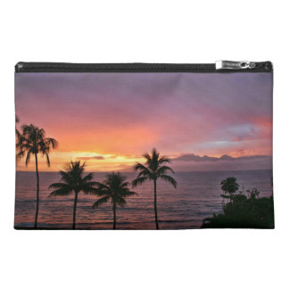 Hawaii Tropical Sunset on the Beach Travel Accessories Bag