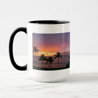 Hawaii Tropical Sunset on the Beach Mug