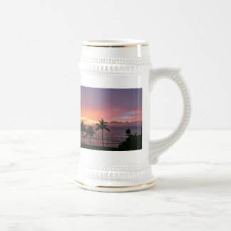 Hawaii Tropical Sunset on the Beach Coffee Mug