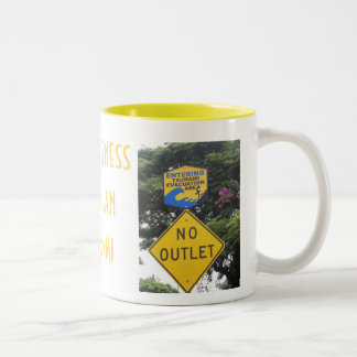 Hawaii Tsunami Two-Tone Coffee Mug