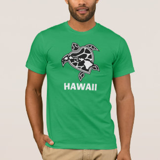 Hawaii Turle and Hawaii Islands T-Shirt