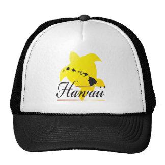 Hawaii Turtle and Hawaii Islands Cap Trucker Hat