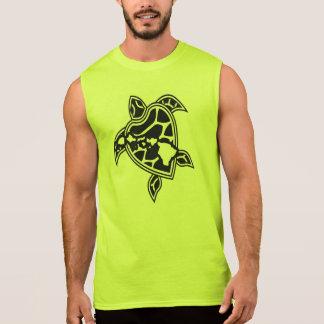Hawaii Turtle and Islands Sleeveless Shirt