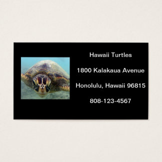 Hawaii Turtle Business Card