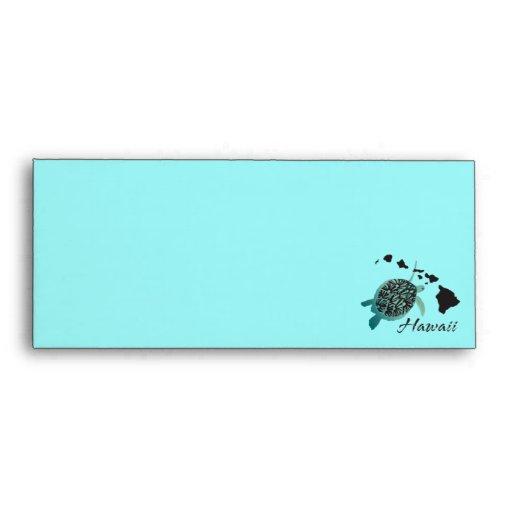 Hawaii Turtle Honu Envelope