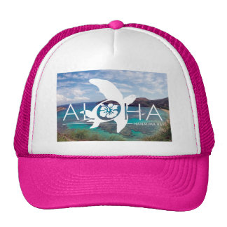 Hawaii Turtle Honu Trucker Hat