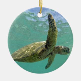 Hawaii Turtle Christmas Tree Ornament