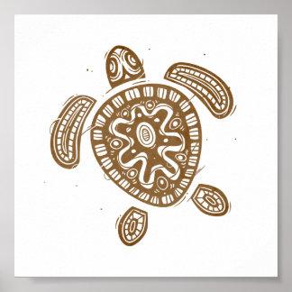 Hawaii Turtle Poster