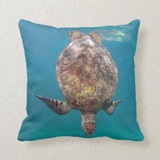 Hawaii Turtle Shell Pillow