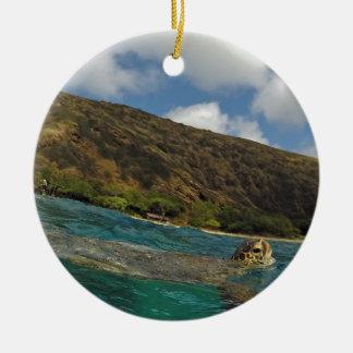 Hawaii Turtles - Honu Christmas Ornament