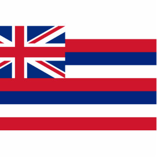 Hawaii, United States Cut Out