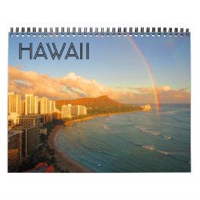 hawaii usa 2021 calendar