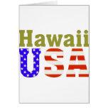 Hawaii USA! Card