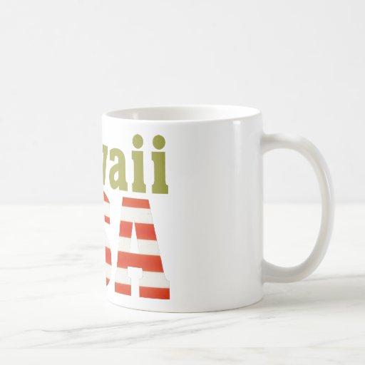 Hawaii USA! Coffee Mugs