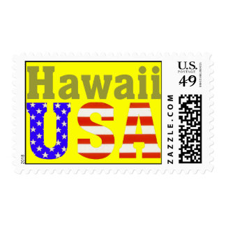 Hawaii USA! Stamp