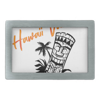 Hawaii Vacation Belt Buckle