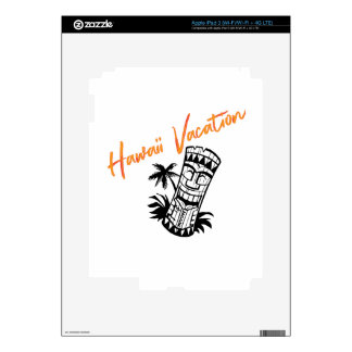 Hawaii Vacation iPad 3 Decals