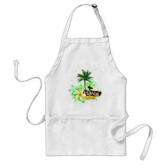 Hawaii Vacation Travel Souvenir Adult Apron