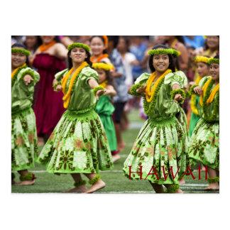 Hawaii Vintage Tourism Travel Add Postcard