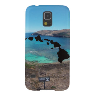 Hawaii Volcano and Beach Case For Galaxy S5