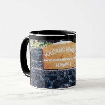 Hawaiian Themed Hawaii Volcano Winery Mug