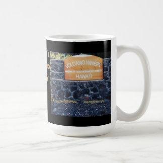 Hawaii Volcano Winery Coffee Mugs