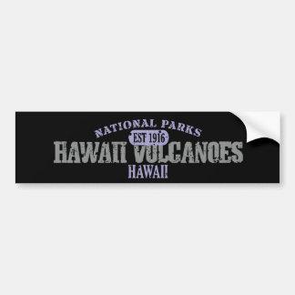 Hawaii Volcanoes National Park Bumper Sticker