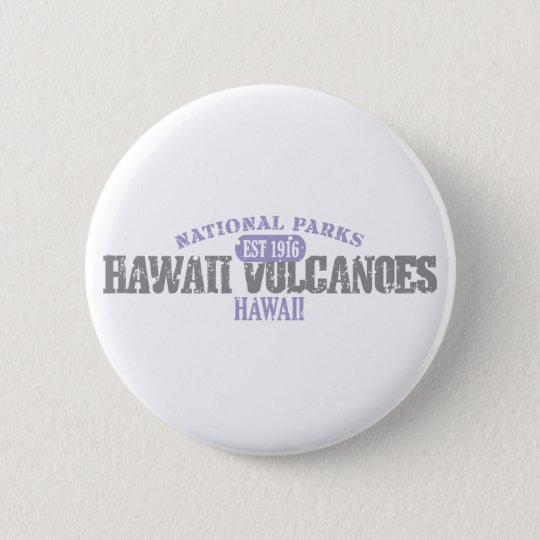 Hawaii Volcanoes National Park Button