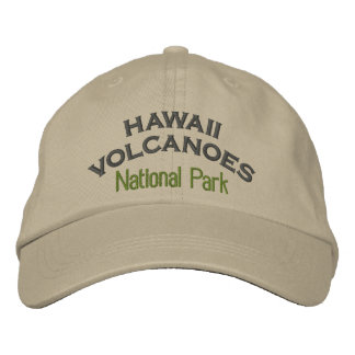 Hawaii Volcanoes National Park Embroidered Hat