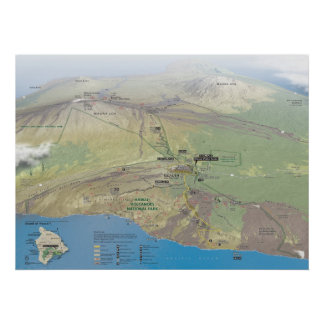 Hawai'i Volcanoes National Park Poster