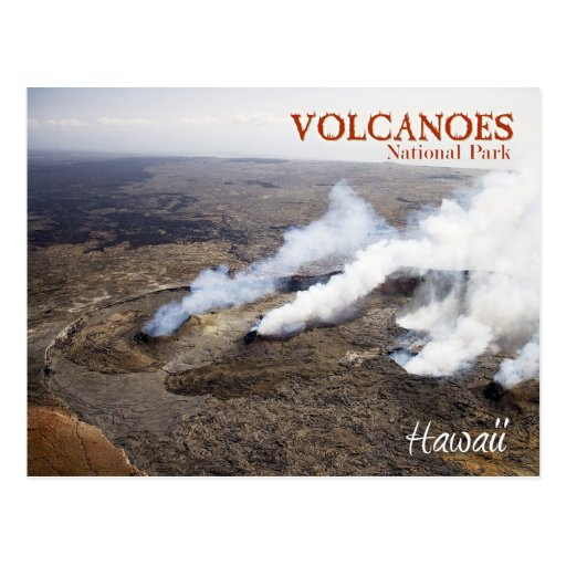Hawaii Volcanoes National Park (UNESCO whs) Post Cards