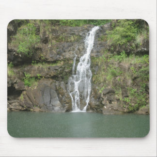 Hawaii Water Fall and Swimming Hole Mouse Pad