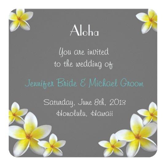 Wedding Invitations Hawaii: Hawaii Wedding Invitation